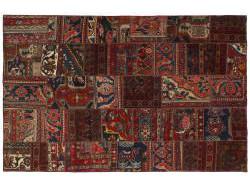 Vintage Persian Royal Patchwork Malayer 237x155