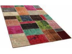 Vintage Patchwork persan 197x140