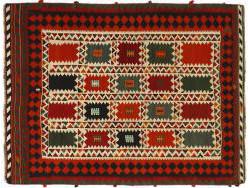 Kilim Persan Vintage 198x147