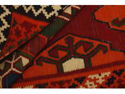 Kilim Persan Vintage 247x142
