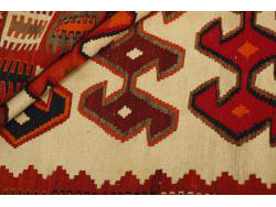 Kilim Persan Vintage 283x137