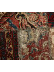 Vintage Patchwork persan 202x143