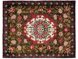 Kilim Floral Roses Old 225x182