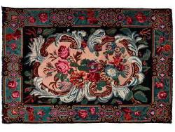 Kilim Floral Roses Old 297x200
