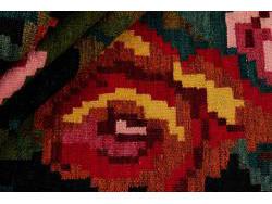 Kilim Floral Roses Old 268x164