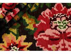Kilim Floral Roses Old 272x186