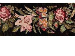 Kilim Floral Roses Old 300x80