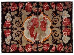 Kilim Floral Roses Old 285x210