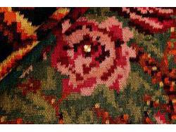 Kilim Floral Roses Old 200x165