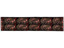 Kilim Floral Roses Old 382x84