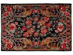 Kilim Floral Roses Old 298x201