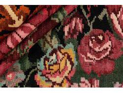 Kilim Floral Roses Old 268x217