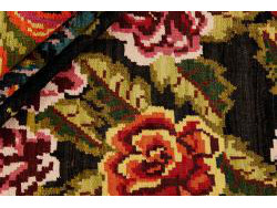 Kilim Floral Roses Old 303x186