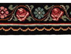 Kilim Floral Roses Old 198x142