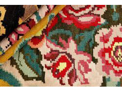 Kilim Floral Roses Old 274x198