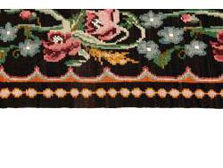 Kilim Floral Roses Old 274x173