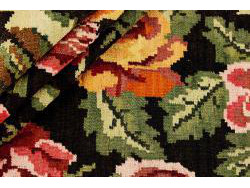 Kilim Floral Roses Old 300x182