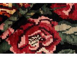 Kilim Floral Roses Old 277x172