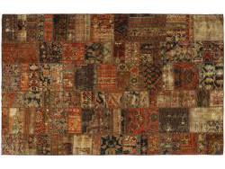 Vintage Persian Royal Patchwork Malayer 233x150