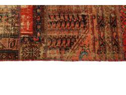 Vintage Persian Royal Patchwork Malayer 304x208