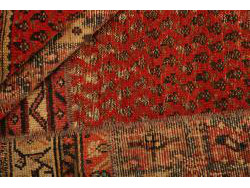 Vintage Persian Royal Patchwork Malayer 242x159