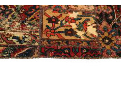 Vintage Persian Royal Patchwork Malayer 240x161