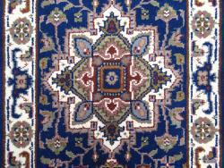 Impérial-Heriz bleu 140x70
