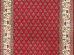 Varanasi-Mir rouge-crème 140x70