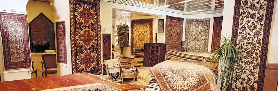<b>Oriental carpets</b>, unique carpets with exciting designs